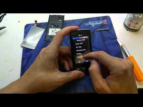 LG GM360 hard reset