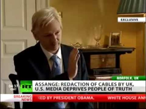 WikiLeaks Julian assange Facebook is CIA spying machine ...