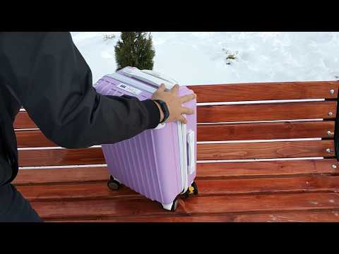 Suitcase Cute Trolley Box Student Universal Baggage Trolley Case