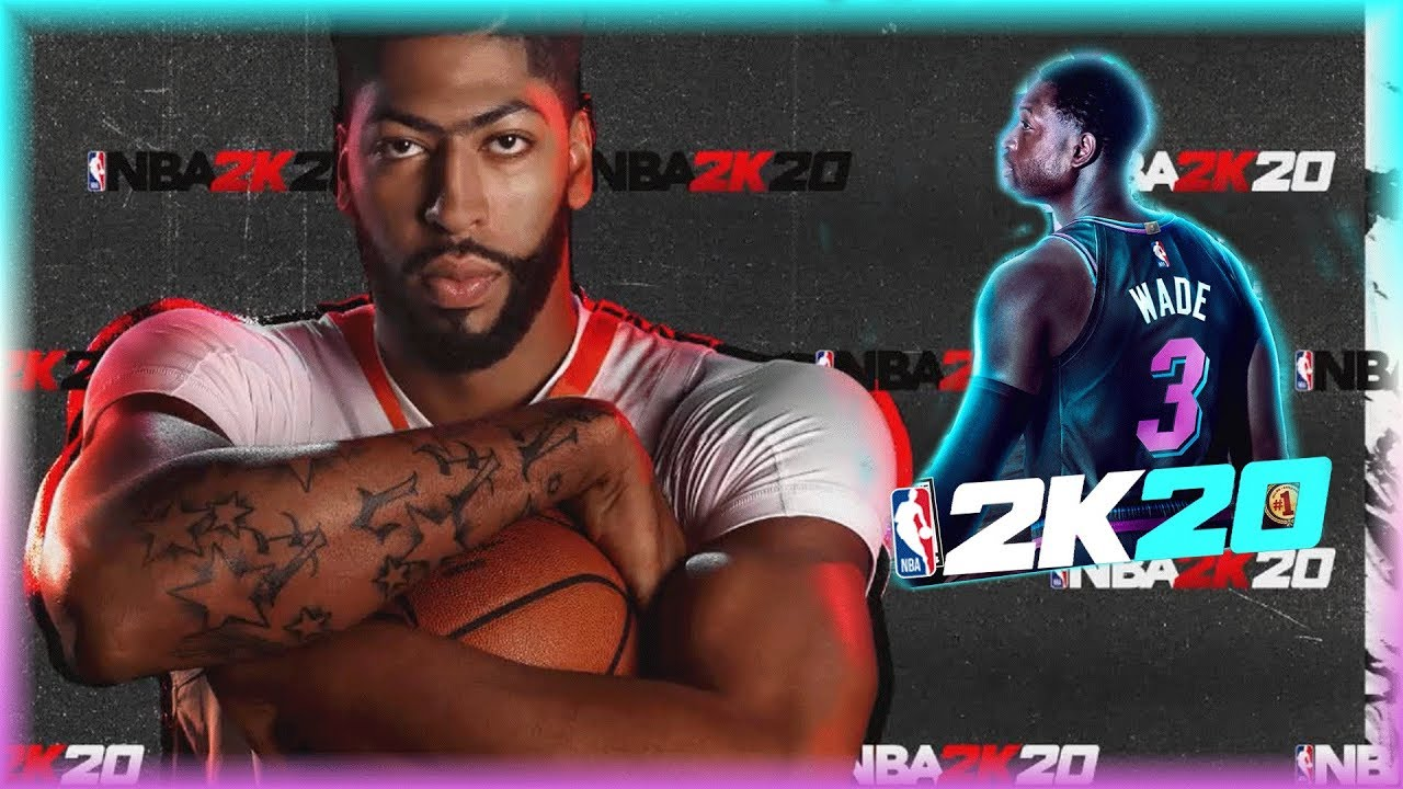 "Anthony Davis and Dwyane Wade are the cover stars for the ""NBA 2K20"" video game"