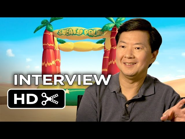 Penguins of Madagascar Interview - Ken Jeong (2014) - Animated Movie HD