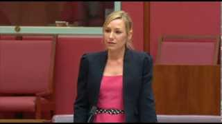 Larissa Waters sums-up debate on Landholders