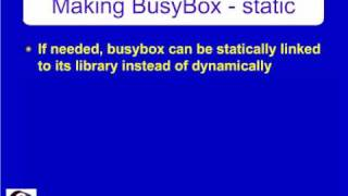 BusyBox- Swiss Army knife of Embedded Linux.avi