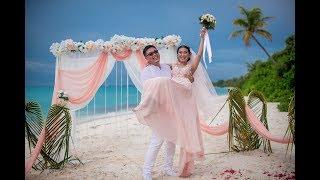 Свадьба за границей . Свадьба на Мальдивах  ПА