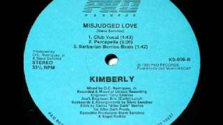 KIMBERLY  - MISJUDGED LOVE (CLUB VOCAL B)