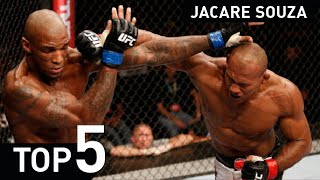 Ronaldo Jacare Souza UFC MMA Jiu Jitsu UFC fight Highlight 2015