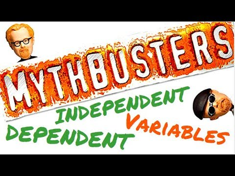 INTERACTIVE: Part 1: Identify the Independent and Dependent Variables with the MythBusters!