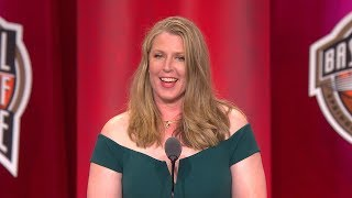 Katie Smith's Basketball Hall of Fame Enshrinement Speech