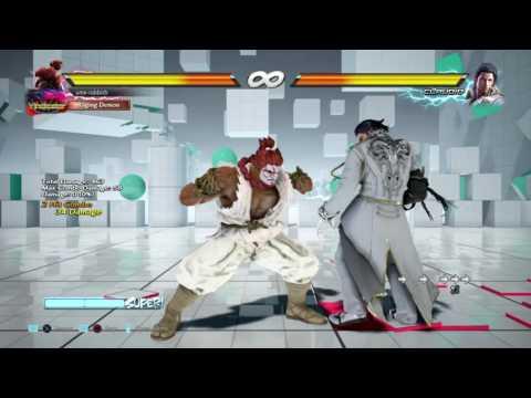 Akuma vs Claudio f+2,2 Punish