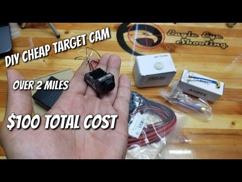 DIY Cheap Target Camera $100 +2Miles