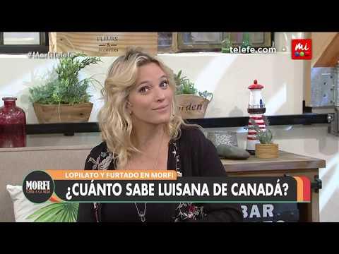 ¿Cuánto sabe Luisana sobre Canadá?  Morfi