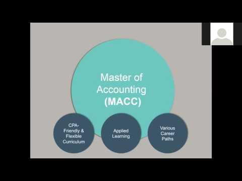 Program Overview: Master of Accounting at Washington University
