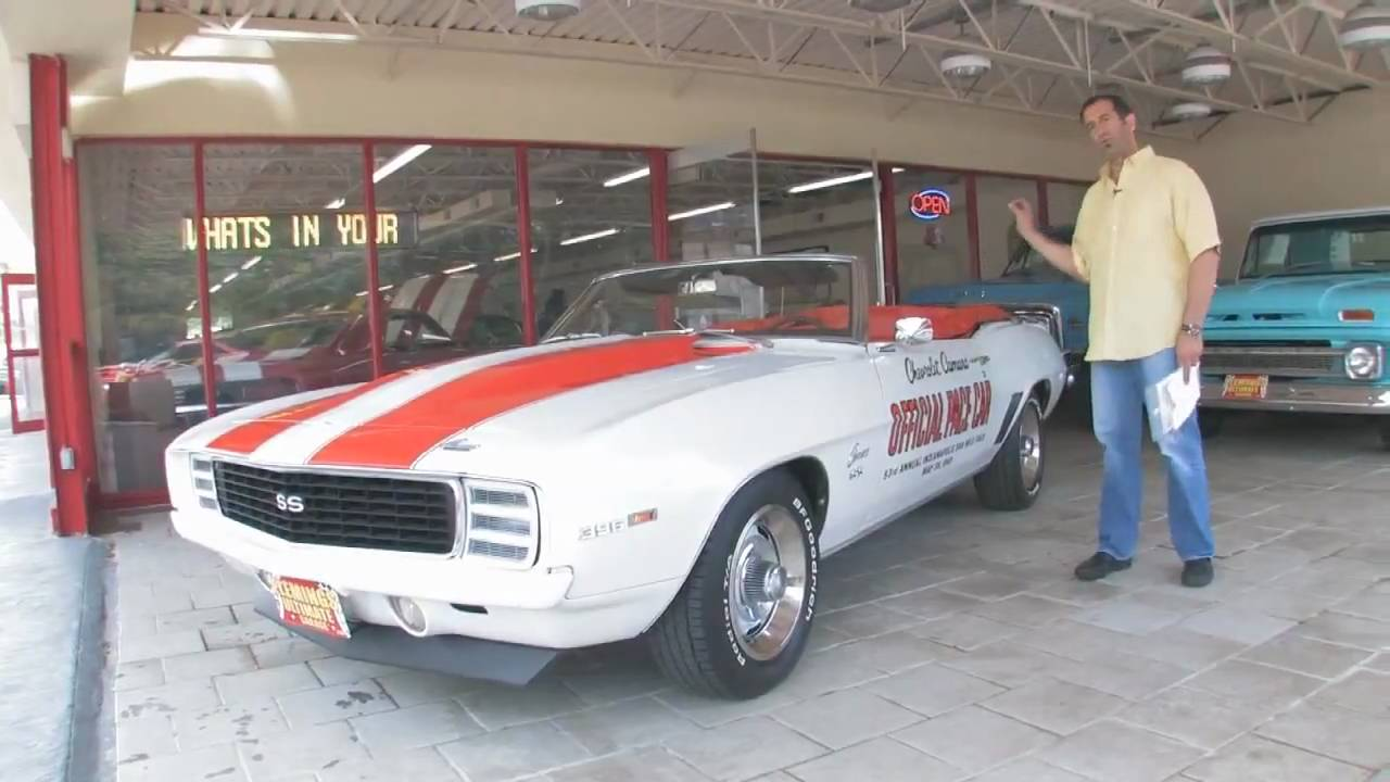 Camaro Indy Pace Car For Sale