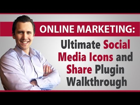 WordPress: Ultimate Social Media Icons and Share Plugin Walkthrough
