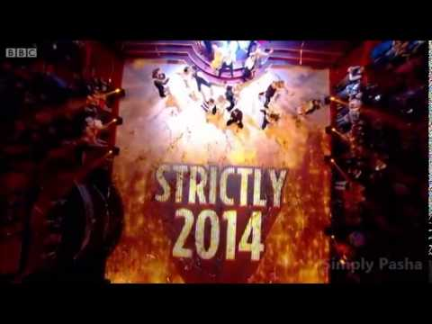 First Group Dance ( Celebrities first dance ) ~ Strictly Launch Show 2014