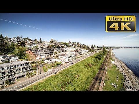 4K White Rock British Columbia Canada