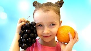 Learn fruits and Animals with funny UT kids