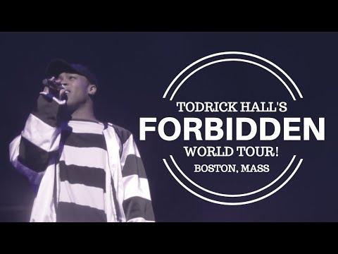 TODRICK HALL - FORBIDDEN WORLD TOUR! I THE WILBUR THEATER - BOSTON MASS // TWIN WORLD