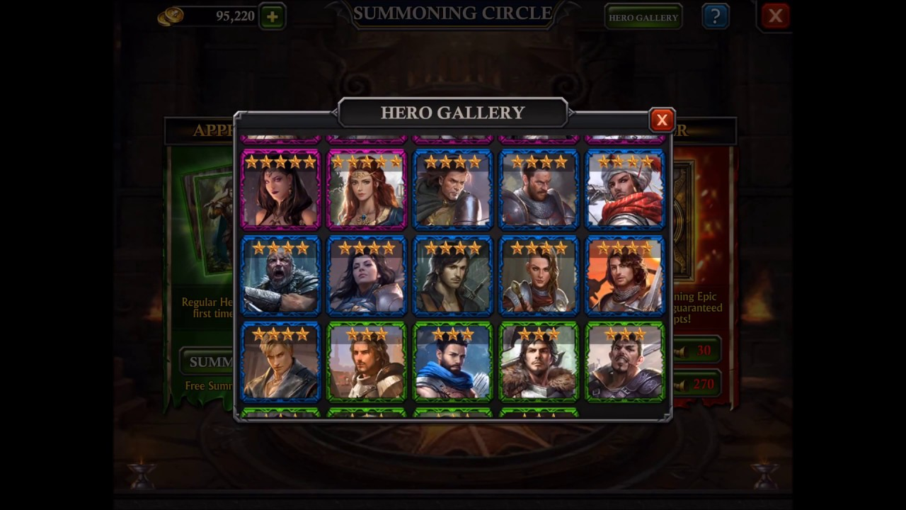 King of Avalon - Hero Council Guide
