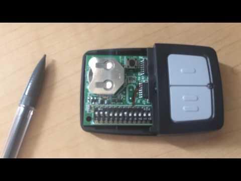 RTL-SDR Universal Garage Door Dip Switch OOK capture