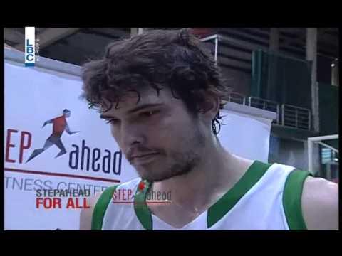 Pepsi Lebanese Basketball Championship 14/15 - Interview with Daniel Fares