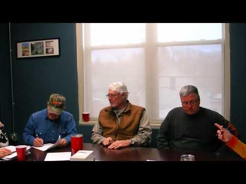 Alfalfa County Commissioners Meeting 02-19-2019