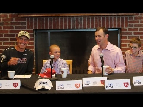 9-Year-Old Boy With Rare Kidney Disease Gets Recruited By Harvard Football