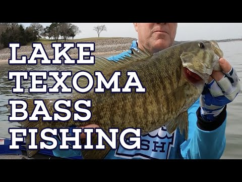 YOU CAN CATCH THESE AT LAKE TEXOMA? Let's Fish #5 SouthEAST Lake Texoma, Oklahoma Bass Fishing
