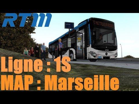 Map: Marseille Ligne 1S /////// Bus: Citaro C2 [OMSI2]