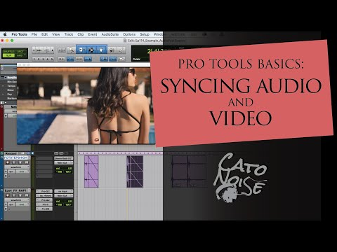Pro Tools Basics: Syncing Audio to Video, Footsteps!