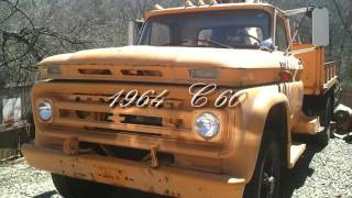 old c60 chevrolet truck with a 409 or 348