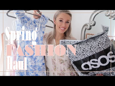 SPRING FASHION HAUL 🌸 ASOS, Tory Burch, Reiss // #FashionMumblrSpringEdit