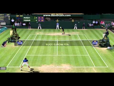 Andy Murray vs Roger Federer Wimbledon 2015 semi final