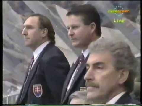 Olympic Games 1994. SWEDEN - SLOVAKIA (13.02.1994, group tournament)