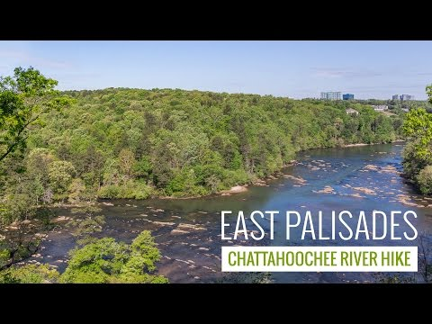 East Palisades Trail - hiking the Chattahoochee River in Atlanta