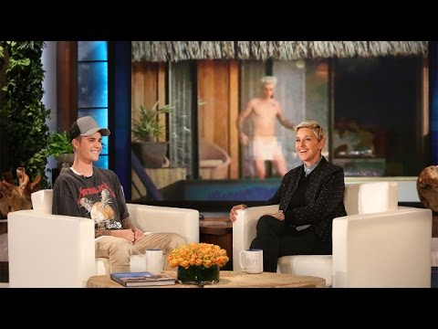 Justin Bieber on His Nude Paparazzi Photo