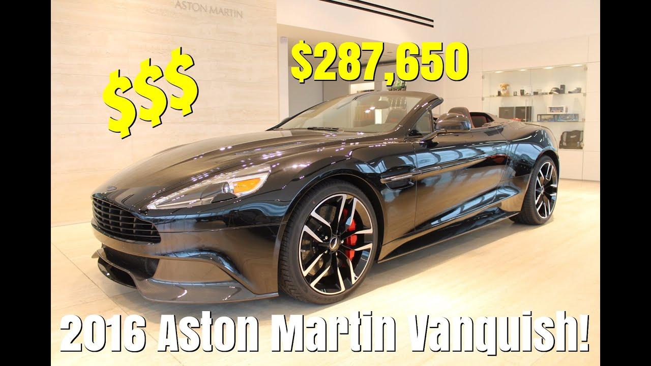 13 Aston Martin Vanquish - Build & Price - YouTube   build and price aston martin