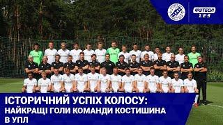Колос в УПЛ найкращі голи команди з Ковалівки в сезоні 2019 20