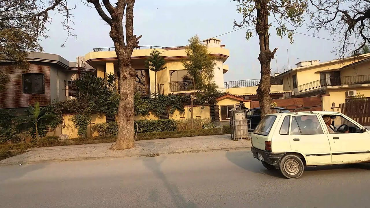 Rich Peoples Houses Worth 1 To 5 Million Dollars In Islamabad Pakistan Outside View