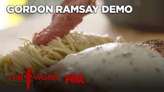 Gordon Ramsay&#39s Chicken Parmesan Recipe: Extended Version  Season 1 Ep. 3  THE F WORD