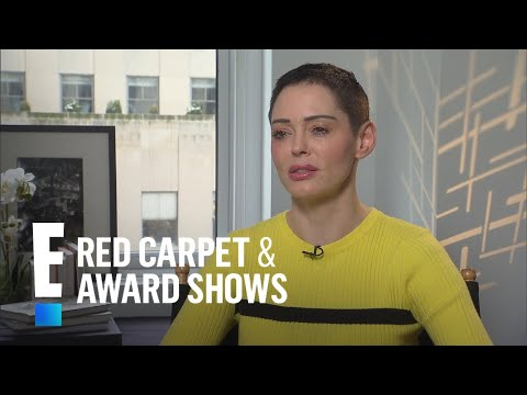 Is Rose McGowan Fearing for Her Safety?   E! Live from the Red Carpet