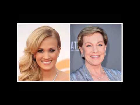 Did Carrie Underwood hit the same notes as Julie Andrews in