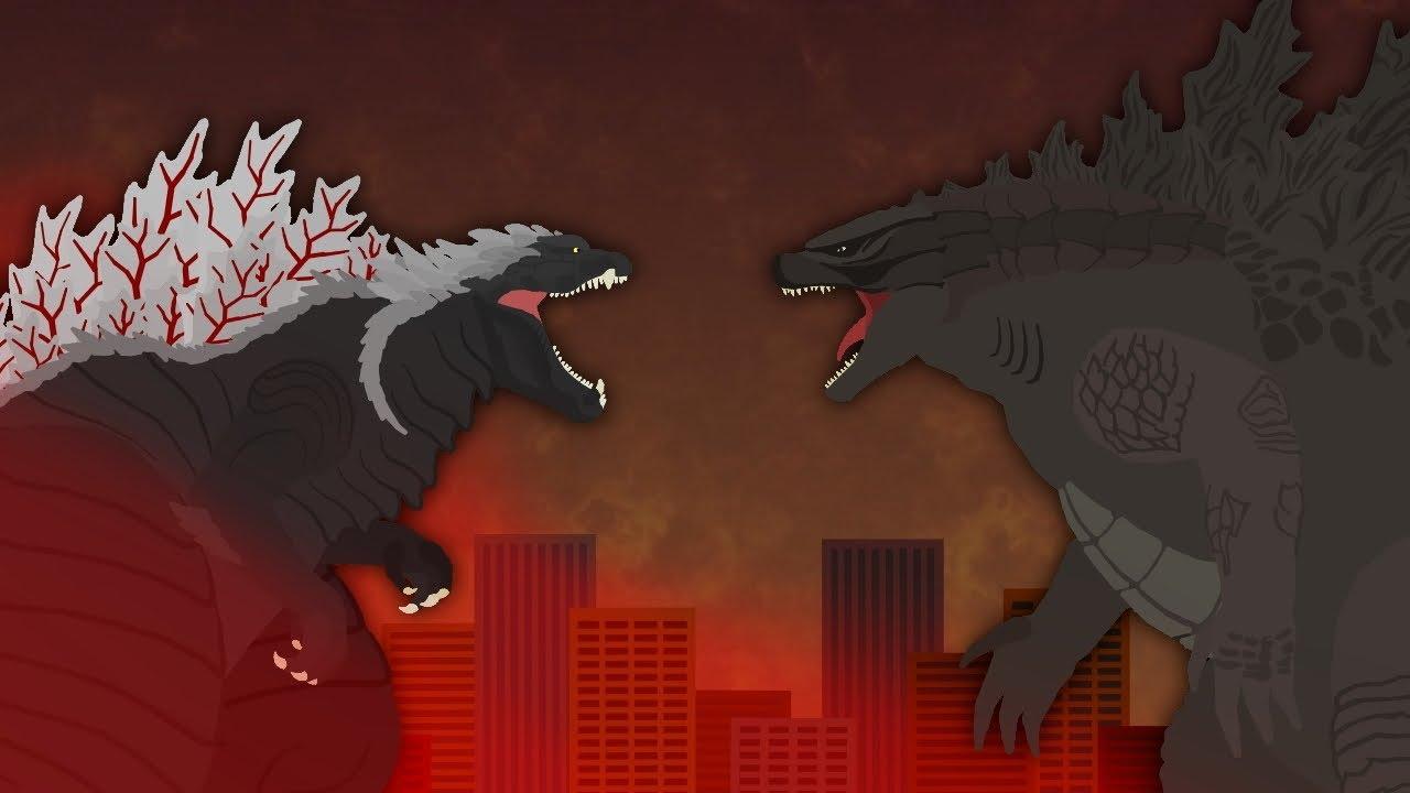 Download Godzilla Ultima vs Legendary Godzilla  |  EPIC BATTLE  |  Singular Point vs MonsterVerse Animation