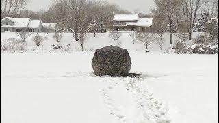 USA КИНО 1155. Заснеженный Мичиган и зимняя рыбалка на озере