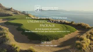 Unlimited Golf Or Spa Package at the Islands of Loreto, Mexico