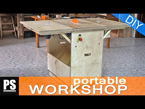Making a Portable Workshop - Part 3