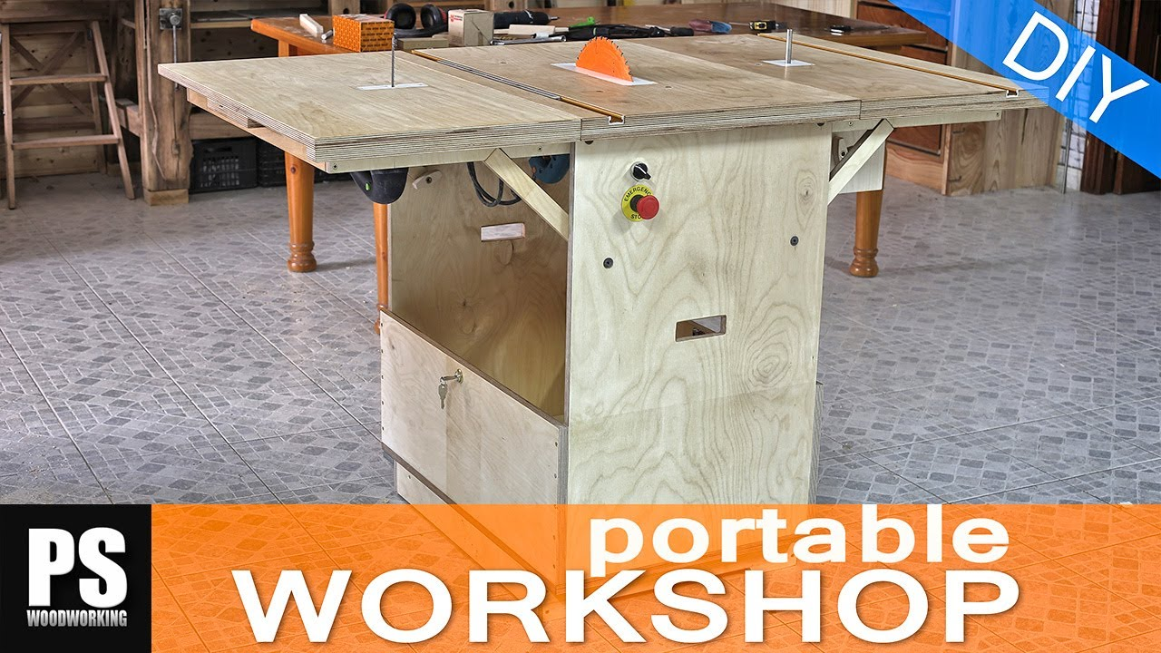Making a Portable Workshop - Part 3 | Doovi