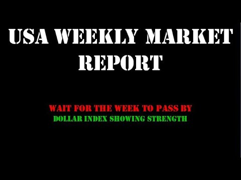 USA Weekly Market Report #dji #nasdaq #vix #dxy #dollar #dow #dowjones
