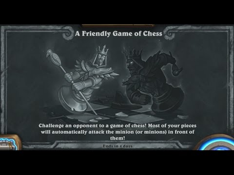 Tavern Brawl -  A friendly game of Chess