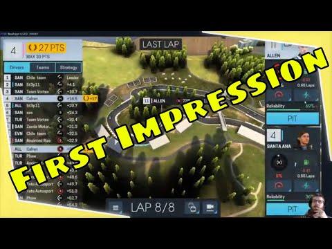 Motorsports Manager Online First Impression